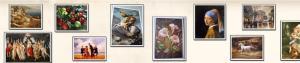 Oil Paintings & Portraits